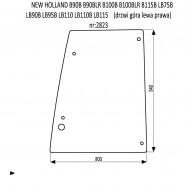 NEW HOLLAND B90B B90BLR B100B B100BLR B115B LB75B LB90B LB95B LB110 LB110B LB115 szyba drzwi