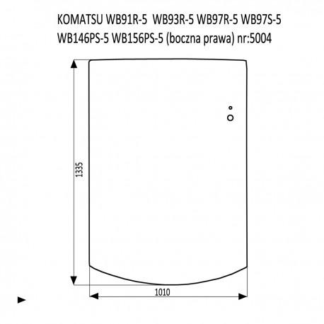 KOMATSU WB91R-5  WB93R-5  WB97R-5  WB97S-5  WB146PS-5  WB156PS-5 tylna